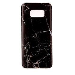 Svart Marmorskal för Samsung Galaxy S8