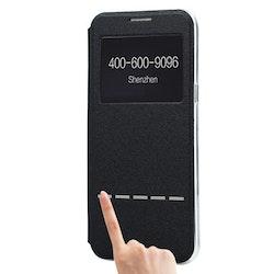Fodral med Call-ID & Svara funktion- Samsung Galaxy S8