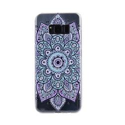 Blommigt mönstrat skall till Samsung Galaxy S8 Plus