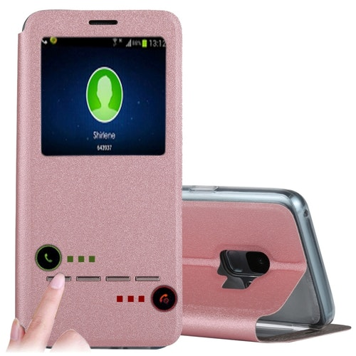 Call-ID fodral med svara funktion- Samsung Galaxy S9