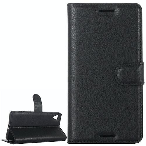 Plånbok i konstläder för Sony Xperia X Performance