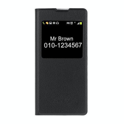 Sony Xperia XA - Fodral med Call-ID fönster