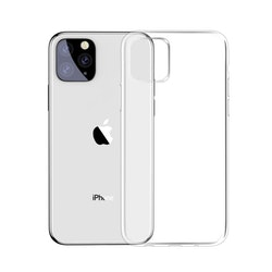 Transparent TPU skal - iPhone 11 PRO