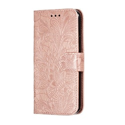 Mönstrad rosa plånbok för iPhone 11 PRO MAX
