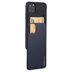 Skal med kortficka för iPhone 11 PRO MAX