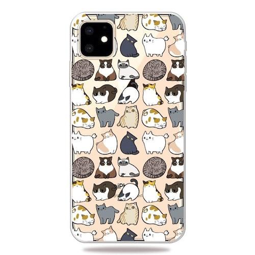 Mini katter skal för iPhone 11 PRO MAX