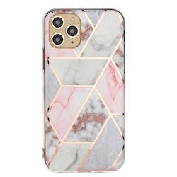 Mönstrat marmor skal för iPhone 11 PRO MAX