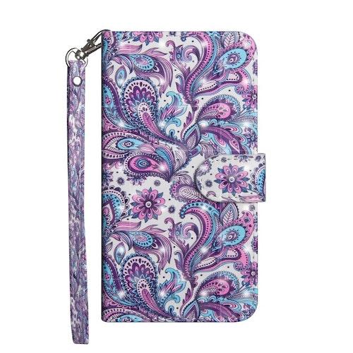 Plånbok med mönster- till iPhone 7/8