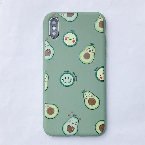 Avokados -skal för iPhone Xs Max