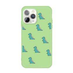 Grönt skal med mini dinosaurier- för iPhone 11 PRO MAX