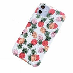 Färgglada ananaser- skal för iPhone 11 PRO MAX