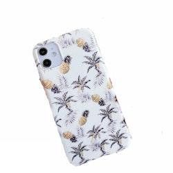 Små ananaser och blad- skal för iPhone 11 PRO MAX