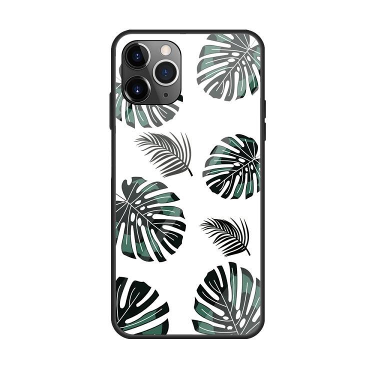 Bananblad- skal för iPhone 11