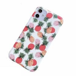 Färgglada ananaser- skal för iPhone 11