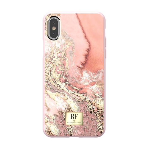 Richmond & Finch- PINK MARBLE GOLD- iPhone X/Xs