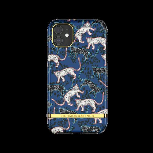 BLUE LEOPARD - Richmond & Finch- iPhone 11 PRO