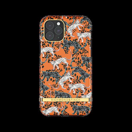 ORANGE LEOPARD- Richmond & Finch- iPhone 11 PRO MAX