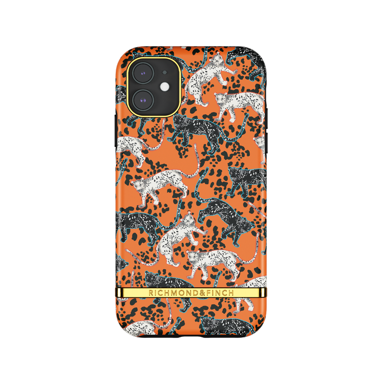 ORANGE LEOPARD - Richmond & Finch- iPhone 11