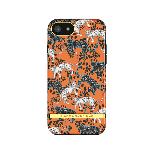 ORANGE LEOPARD - Richmond & Finch- iPhone 6/7/8/SE 2020