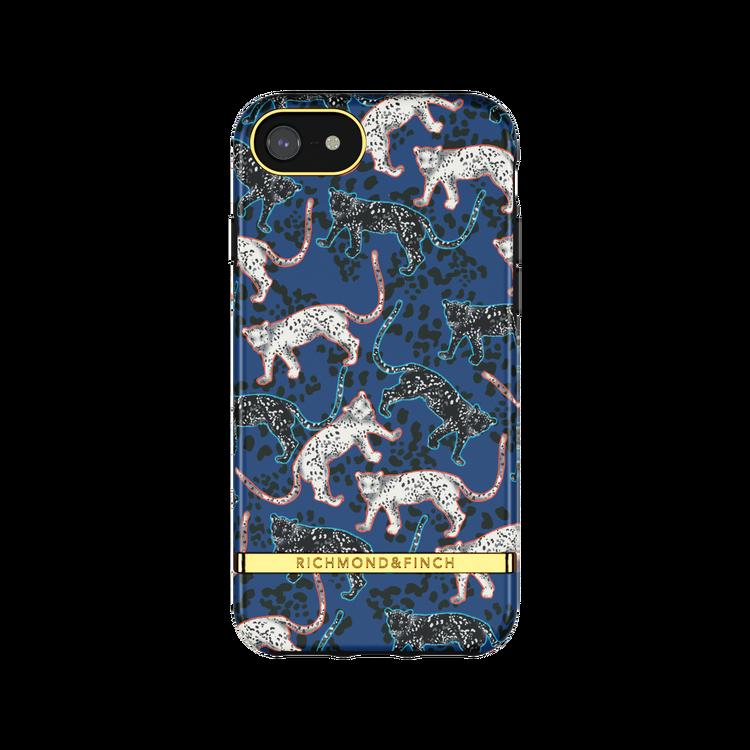 BLUE LEOPARD - Richmond & Finch- iPhone 6/7/8/SE 2020