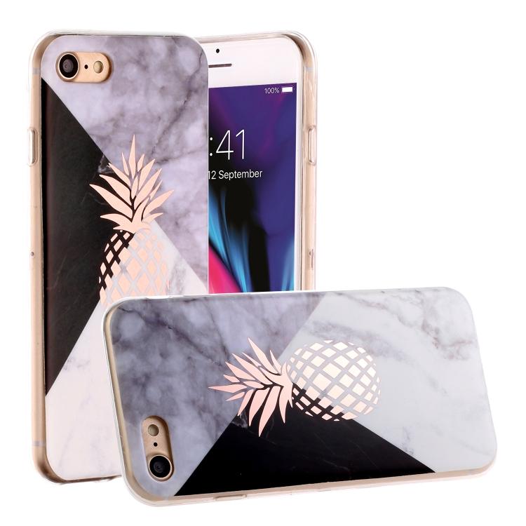Marmor och ananas - iPhone 7/8/SE 2020