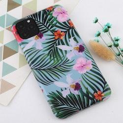 Blad och blommor- skal för iPhone 11 PRO MAX