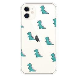 Dinosaurier skal för iPhone 11