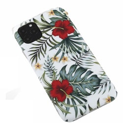 Blad och blommor- skal för iPhone 11 PRO