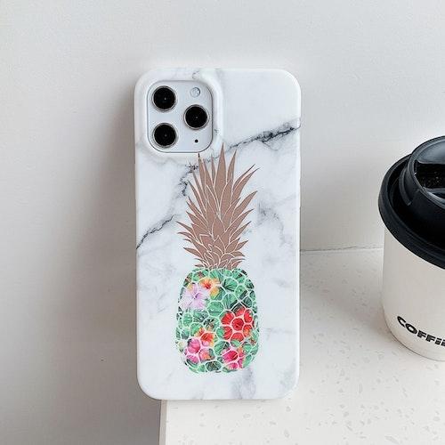 Marmorskal med ananas- iPhone 12 PRO MAX