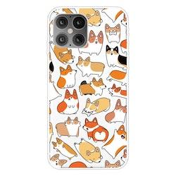 Små hundar- skal för iPhone 12 / 12 PRO