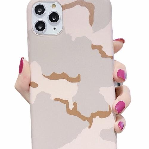 Camouflage- skal till iPhone 12 / 12 PRO