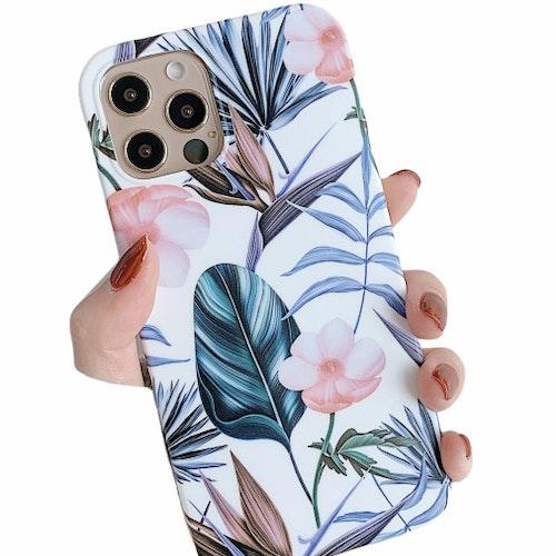 Blommor- skal till iPhone 12 / 12 PRO