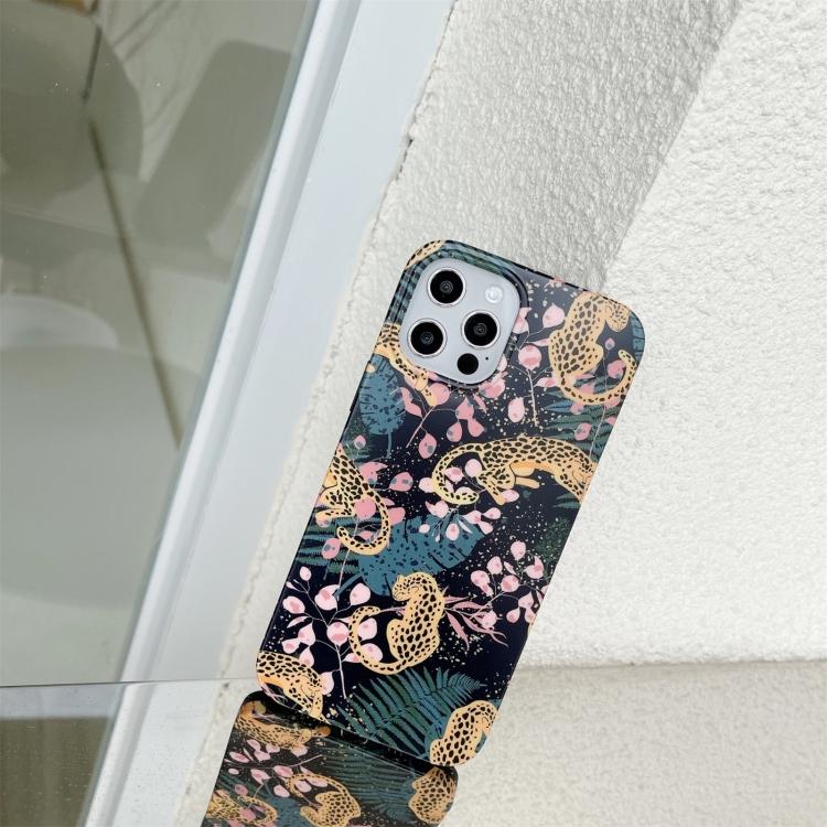 Leopard- skal till iPhone 12 / 12 PRO
