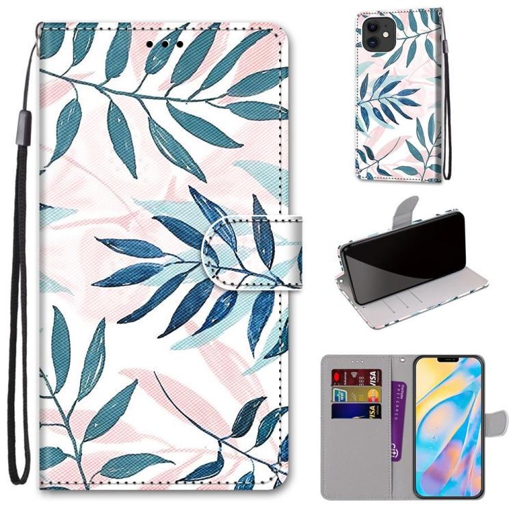 Plånbok med mönster för iPhone 12 / 12 PRO
