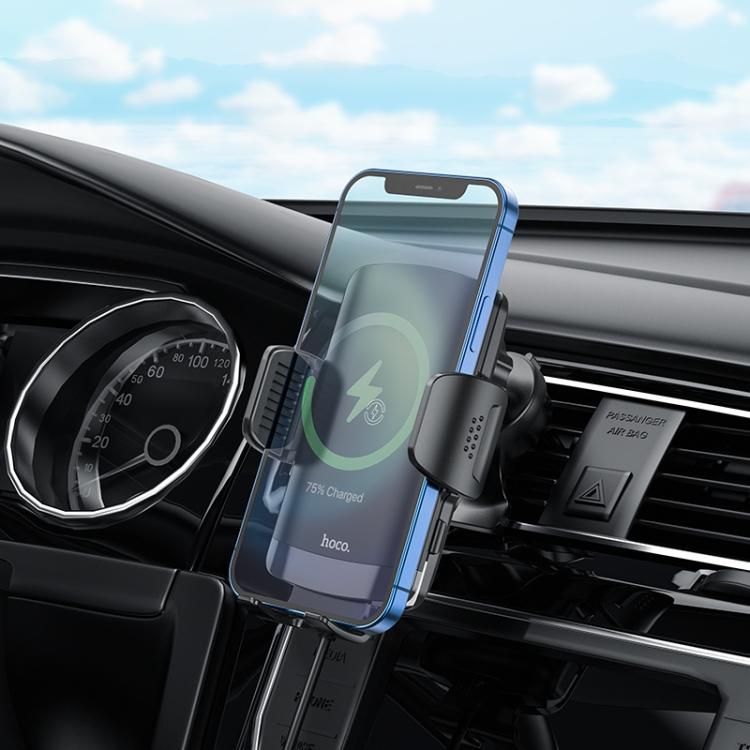 Mobilhållare till bilen- Trådlös laddning