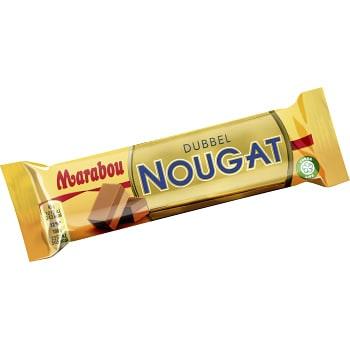 Choklad Dubbel nougat 43g Marabou