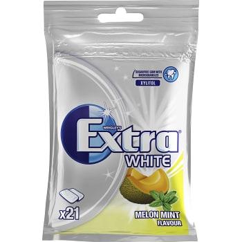 Tuggummi White Melon mint 29g Extra