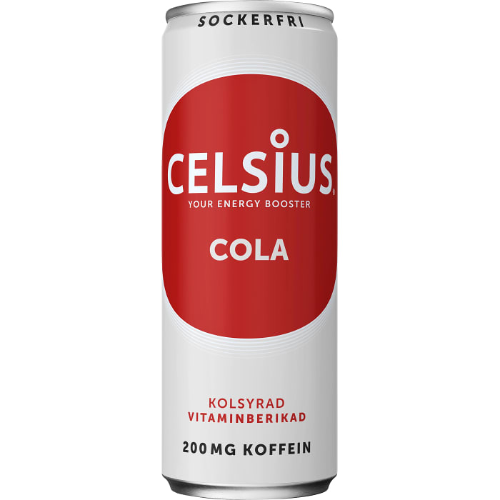 Cola 35,5cl Celsius