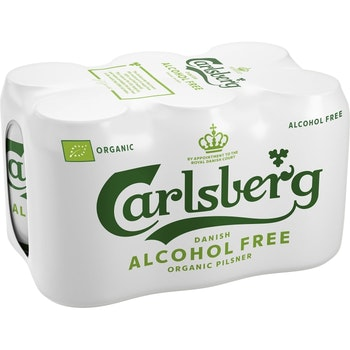 Öl Alkoholfri Ekologisk 33cl 6-p Carlsberg