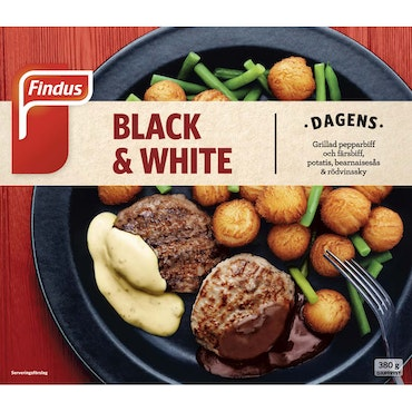 Black & white 380g Findus