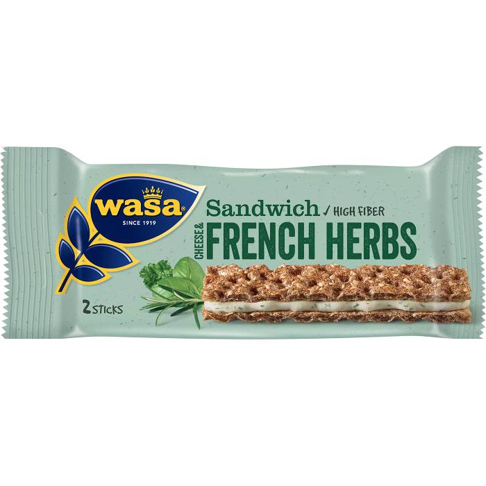 Sandwich Cheese & french herbs 30g Wasa