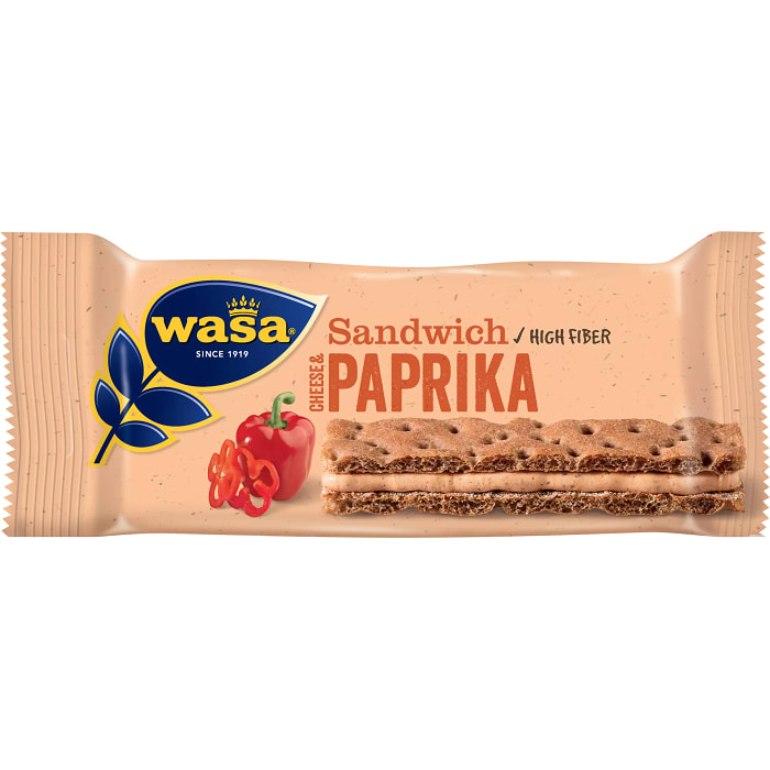 Sandwich Cheese & paprika 37g Wasa
