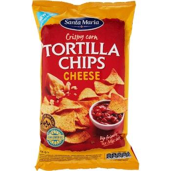 Tortilla Chips Cheese 185g Santa Maria