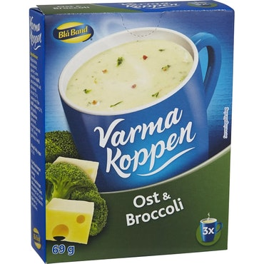Ost & Broccolisoppa Varma Koppen