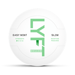 LYFT Easy Mint Mellow Slim All White Portion