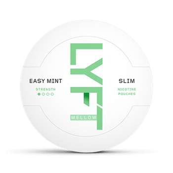 LYFT Easy Mint Mellow Slim All White Portion