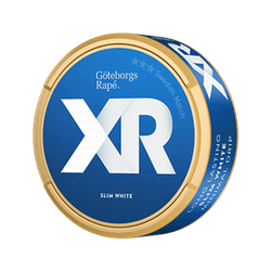 XR Göteborgs Rapé Slim White Portion Strong