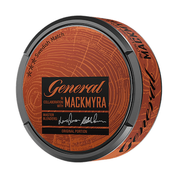 General Mackmyra Original Portionssnus