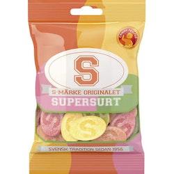 S-märke orginalet Supersurt 80g Candypeople