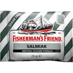 Salmiak Sockerfri 25g Fisherman's Friend